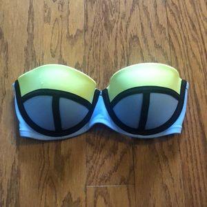 Victoria's Secret neon swim top. Size 36B